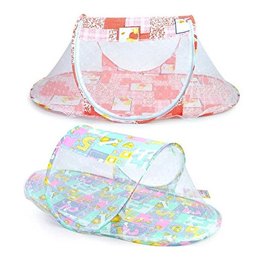 CdyBox Instant Portable Pop up Mosquito-net Crib Travel Baby Beach Tent Bed