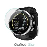 Suunto Spartan Screen Protector, BoxWave [ClearTouch Glass] 9H Tempered Glass Screen Protection for Suunto Spartan