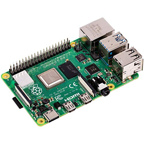 Raspberry Pi 4 Model B 2019 Quad Core 64 Bit WiFi Bluetooth (2GB) (Raspberry Pi 2 Model A)