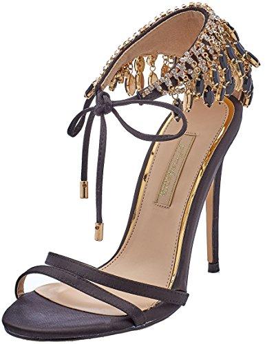 Tobillo Tacon Para Mujer Zapatos Primadonna 112150101rs Negro De Correa Con Y ZCn0Bx