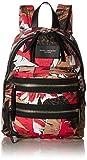 Marc Jacobs Women's Palm Printed Biker Mini Backpack, Pink/Multi