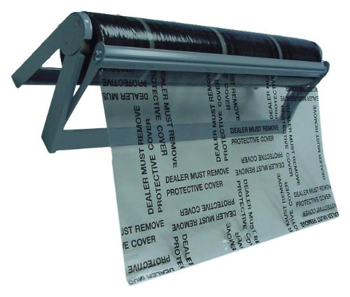 Plasticover Automotive Carpet Protection Film Dispenser for Rolls up to 24'' Wide by Plasticover