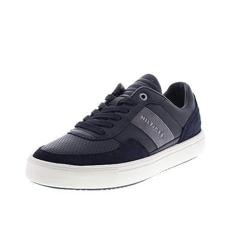 83eb7c893 Tommy Hilfiger FM0FM01706 LGTWGT MAT Sneakers Men: Amazon.co.uk ...