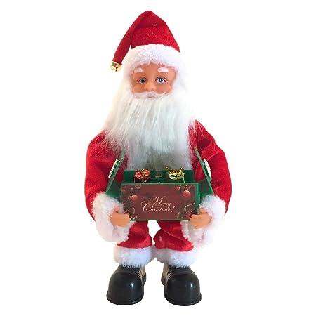 HELLOGIRL Carillón de Navidad Juguetes Musicales eléctricos ...