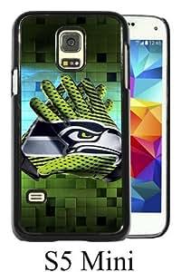 Beautiful Classic seattle seahawks(1) Black Case For Samsung Galaxy S5 Mini