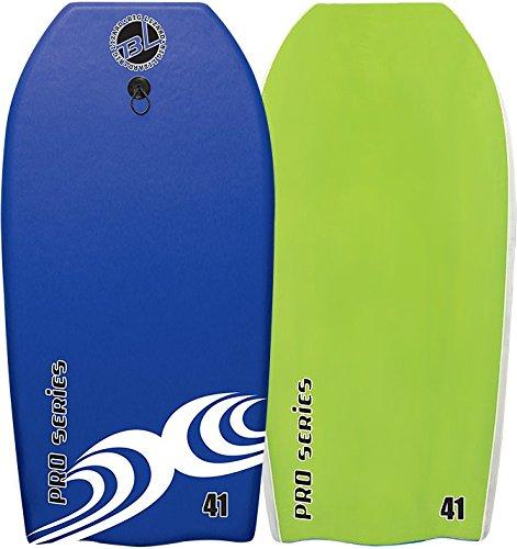 Body Boards - Professional Series Slick Bottom Body Board - Heat Sealed Body Boards (Blue/Green, 37 ()