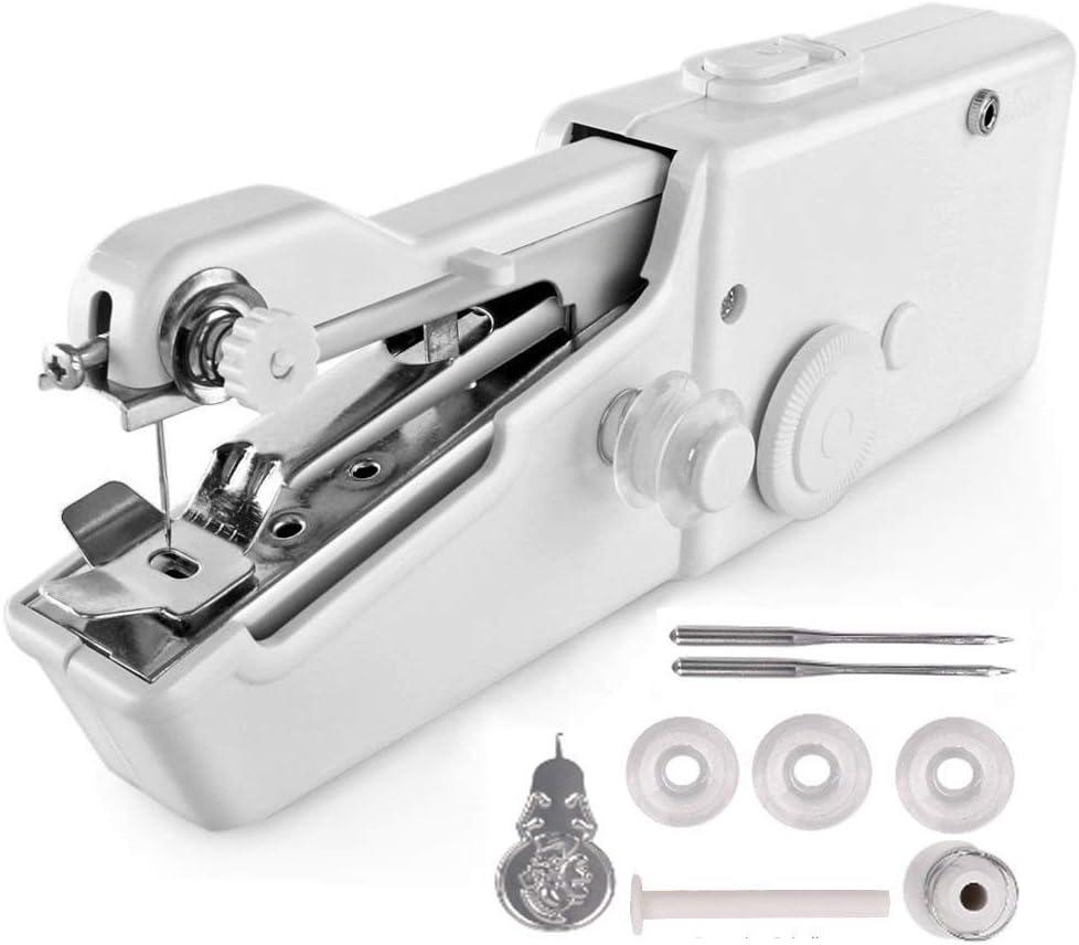 Agolaty Máquina de Coser portátil con Correa Blanca, Unisex-Adult, Pequeño: Amazon.es: Ropa y accesorios