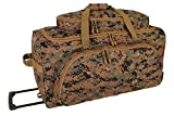 Cheap Marpat Digital Woodland Rolling Duffle Bag