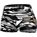 Anarchy Apparel Hot Pants Grey Commando, Bikini, Gym, Fitness, Aerobic, Running