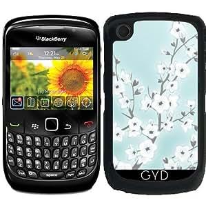 Funda para Blackberry Curve 8520/8530/9300/9330 - Flores De Cerezo Blanco De Menta by Nina Baydur