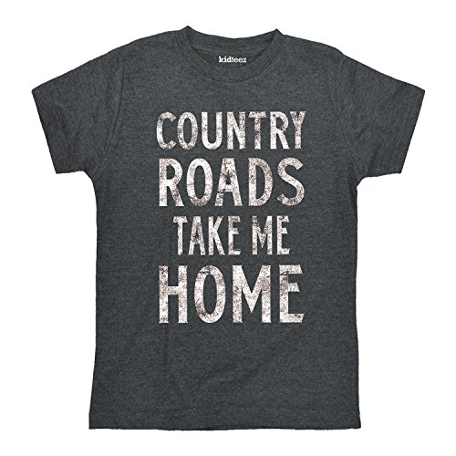 Air Waves Country Roads Take Me Home-Toddler Short Sleeve - Kids Road For Country