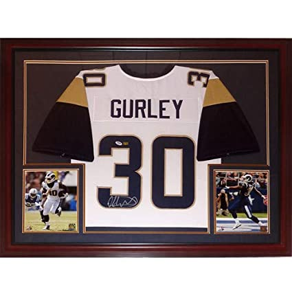 624d39dbd Image Unavailable. Image not available for. Color  Todd Gurley Autographed  Signed ...