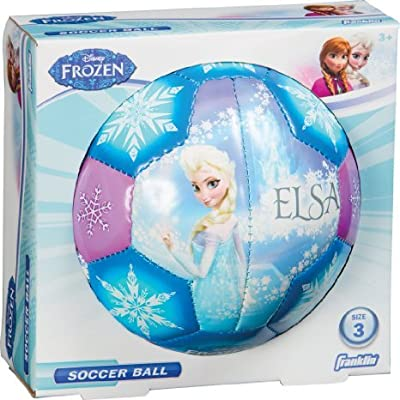Franklin Sports Disney Frozen Size 3 Soft Foam Air Tech Soccer Ball