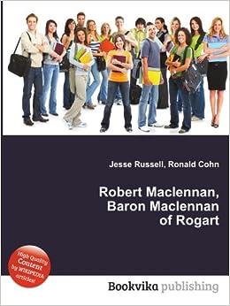 Robert Maclennan, Baron Maclen...