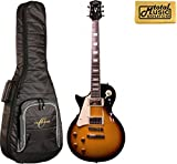 #9: Oscar Schmidt by Washburn Left Hand LP Style Guitar, Sunburst, W/ Bag