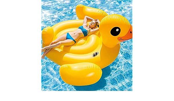 FESTNIGHT Flotador Piscina Centro de Juegos Hinchable Mega Yellow ...