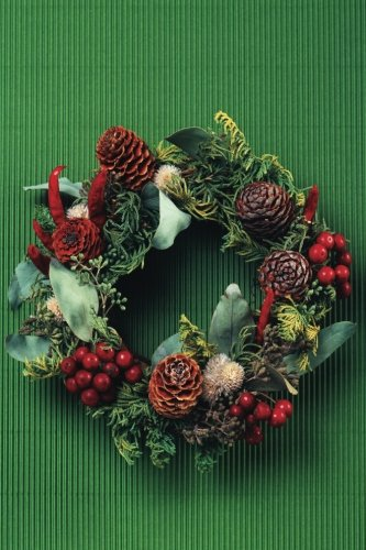 (Pine Cone & Holly Wreath Notebook: 150 page Holiday Notebook Journal (Christmas 150) (Volume 34))