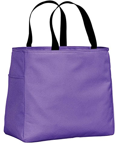 Port & Company luggage-and-bags Improved Essential Tote OSFA Hyacinth