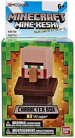 Mine-Keshi Minecraft Villager Character Box (Mini Mine Craft Characters)
