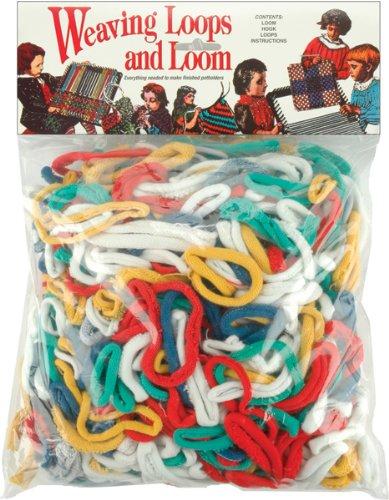 (Wool Novelty Loop and Loom Set in Rack Pack with Header)