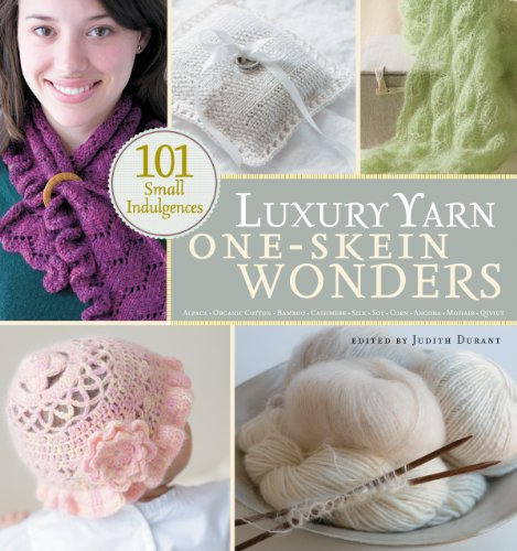 One Skein Scarf - Luxury Yarn One-Skein Wonders®