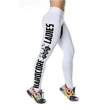 Pantalones De Yoga,Cráneo De Personalidad Letras Impresas ...