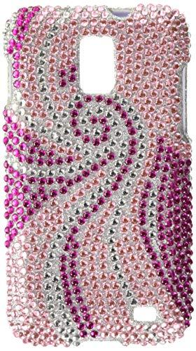 Asmyna SAMI727HPCDM005NP Dazzling Diamond Diamante Case for Samsung Galaxy S2 Skyrocket - 1 Pack - Retail Packaging - Phoenix Tail