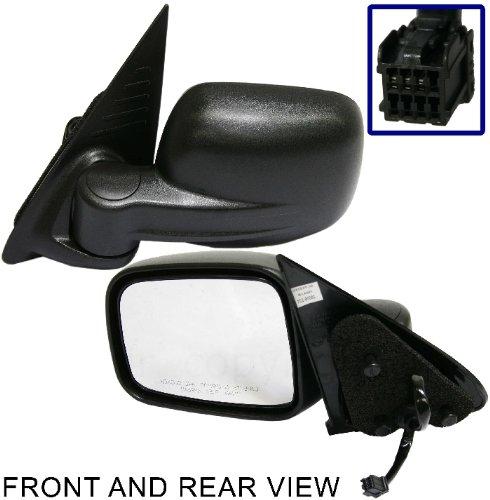 - JEEP LIBERTY 02-07 SIDE MIRROR LEFT DRIVER, POWER, FOLDING, KOOL-VUE, NEW!
