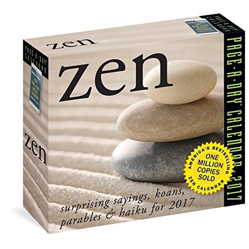 Zen Page A Day Calendar 2017 Association For Contextual
