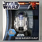 Japan Import Taito lottery Honpo STAR WARS Star Wars E Award R2-D2 kitchen timer figures