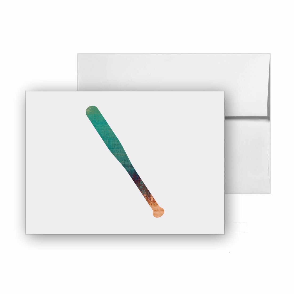 野球バット、空白カード招待パック、15カードat 4 x 6、withホワイト封筒、アイテム1321704 B07D2YHTL2
