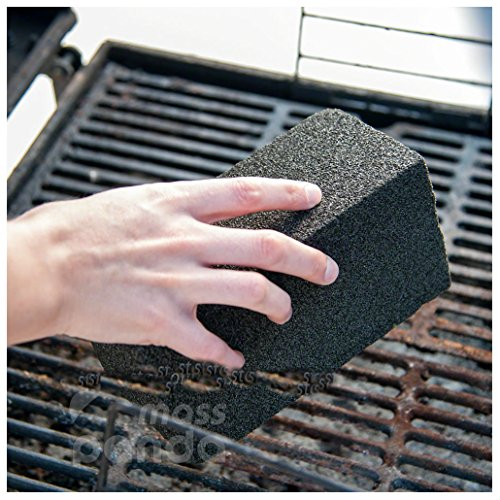 Grill Brick, Griddle/Grill Cleaner, BBQ Barbecue Scraper griddle Cleaning Stone from Unknown