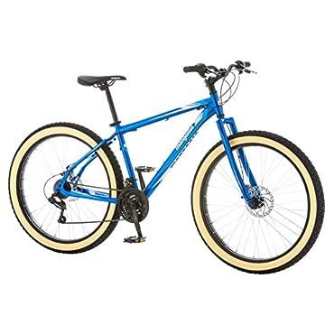 Mongoose Men's Rader 27.5+ 3 Fat Tire Bicycle, Blue, 18/Medium