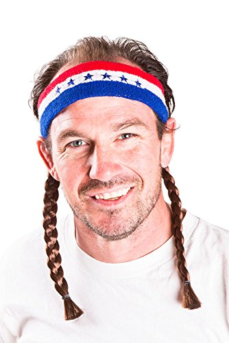 [The Willie Mullet Headband] (Creative Costume Ideas For Men)