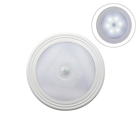 LEDMOMO Luz de sensor de movimiento, luz nocturna con batería LED, lámpara con sensor
