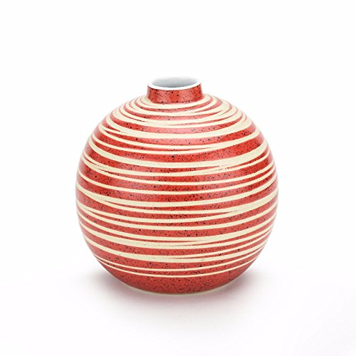 Unravel India ceramic red pot vase by Unravel India (Image #1)
