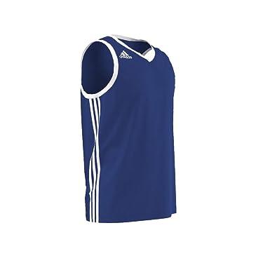 c4e0f237be7 adidas Commander SH Basketball Jersey [Blue/White]: Amazon.co.uk: Clothing
