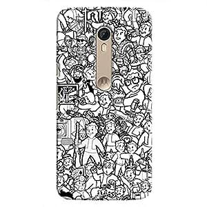 Cover It Up - Cartoon Life Moto X Style Hard case