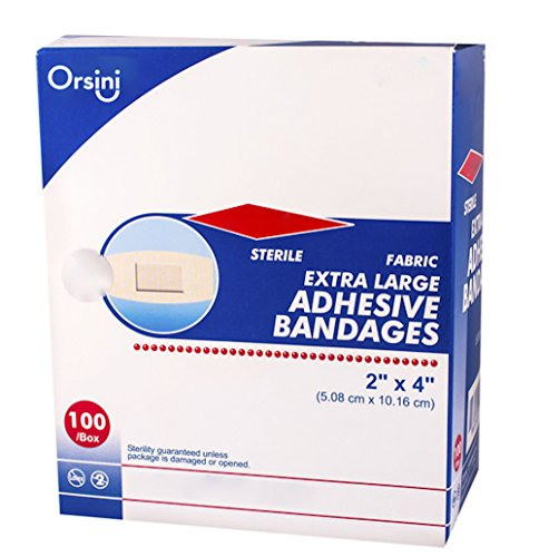 Orsini Sterile Flexible Fabric Adhesive Bandages, 2