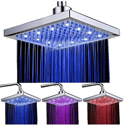 3 Color Led Light Shower Head