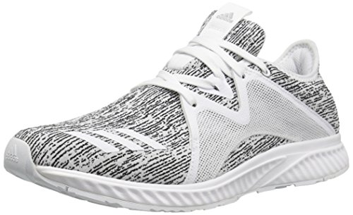 adidas Performance Women's Edge Lux 2 Running Shoe, White/White/Metallic Silver, 9 Medium US by adidas