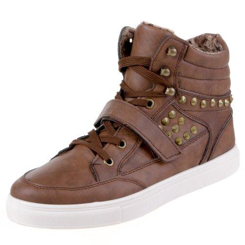 Ital-Design - Caña baja mujer marrón - marrón