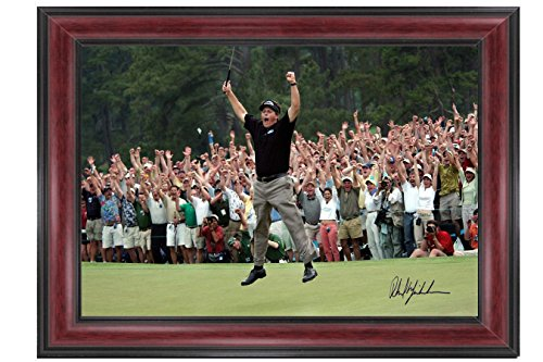 Phil Mickelson Wins His First Masters At Augusta 14 x 17 Large Framed Print Celebrity Photos -