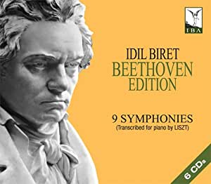 Idil Biret Beethoven Edition - 9 Symphonies (Transcribed for piano by Liszt)