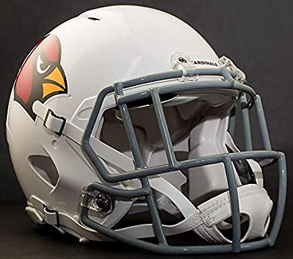 59abe71b Amazon.com : Riddell Arizona Cardinals NFL Replica Football Helmet ...