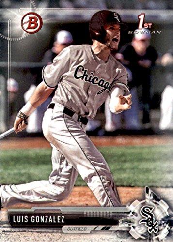 Gonzalez Luis Baseball (2017 Bowman Draft Baseball #BD-86 Luis Gonzalez Chicago White Sox)