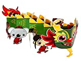 Amscan Adorable Ni Hao Kai Lan Chinese Dragon Birthday Party Table Centerpiece Decoration (1 Piece) Childrens (6), Nickelodeon