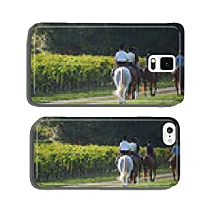 Horse ride - Riding cell phone cover case iPhone5