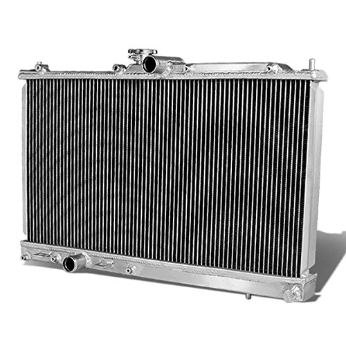 For Mitsubishi Lancer EVO 8/9/VIII/IX Full Aluminum 2-Row Racing Radiator - ()