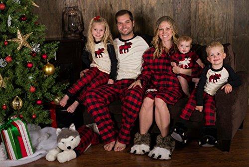 Lata En Matchande Familj Pyjamas Röd